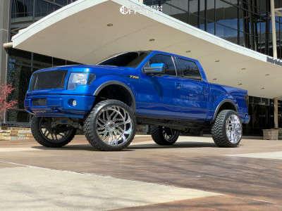 "2012 Ford F-150 - 26x14 -76mm - TIS 544c - Suspension Lift 9"" - 37"" x 13.5"""