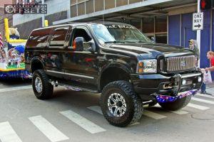 "2004 Ford Excursion - 17x9 -6mm - Pro Comp 31 - Suspension Lift 6"" - 37"" x 13.5"""