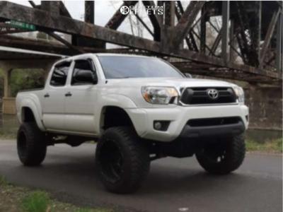 "2013 Toyota Tacoma - 20x12 -51mm - Vision Rocker - Suspension Lift 6"" - 33"" x 12.5"""