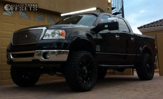 """2007 Ford F-150 - 20x9 14mm - Fuel Hostage - Suspension Lift 6"""" - 35"""" x 12.5"""""""