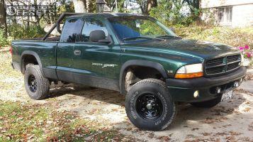 "1999 Dodge Dakota - 15x7 6mm - Cragar Soft 8 - Suspension Lift 4"" - 31"" x 10.5"""