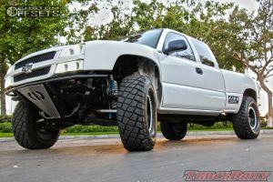 "2007 Chevrolet Silverado 1500 - 17x8.5 0mm - Method Double Standard - Stock Suspension - 37"" x 12.5"""