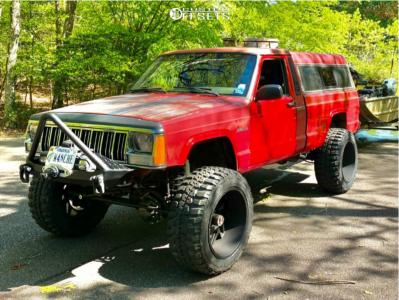 "1988 Jeep Comanche - 20x12 -57mm - Vision Spyder - Suspension Lift 6.5"" - 33"" x 12.5"""