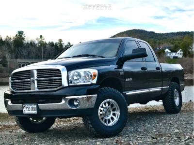 "2008 Dodge Ram 1500 - 17x8.5 0mm - Method Double Standard - Leveling Kit - 35"" x 12.5"""