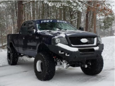 """2007 Ford F-150 - 18x12 -44mm - Fuel Hostage - Suspension Lift 6"""" - 37"""" x 13.5"""""""