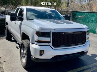 "2016 Chevrolet 1500 - 20x9 1mm - Fuel Maverick - Leveling Kit - 33"" x 12.5"""