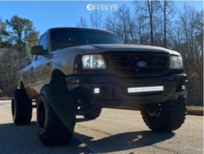 "2002 Ford Ranger - 15x14 -91mm - Bart Super Trucker - Suspension Lift 6"" - 33"" x 13.5"""
