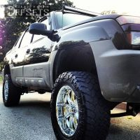 "2002 Chevrolet Avalanche - 20x10 0mm - XD Badlands - Suspension Lift 6"" - 35"" x 12.5"""
