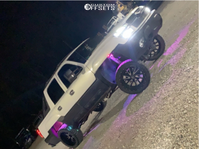 """2002 Chevrolet Avalanche - 22x12 -44mm - Xtreme Force Xf3 - Suspension Lift 6"""" - 33"""" x 12.5"""""""