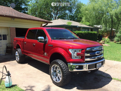 """2017 Ford F-150 - 22x11 -24mm - Fuel Hostage - Suspension Lift 6"""" - 35"""" x 12.5"""""""
