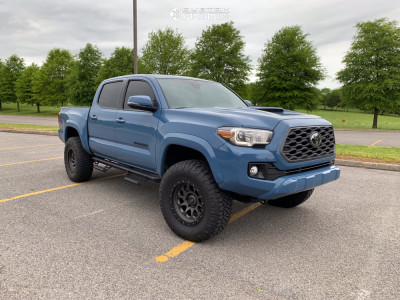 2019 Toyota Tacoma - 17x8.5 -10mm - SCS Ray 10 - Leveling Kit - 285/70R17