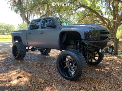 "2010 Chevrolet Silverado 1500 - 26x16 -101mm - Hostile Dagr - Lifted >12"" - 40"" x 15.5"""