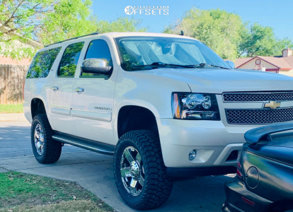"""2008 Chevrolet Suburban 1500 - 20x9 0mm - XD Xd775 - Suspension Lift 7"""" - 35"""" x 12.5"""""""