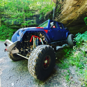 "2018 Jeep Wrangler - 17x9 0mm - Raceline Monster - Suspension Lift 6.5"" - 42"" x 13.5"""