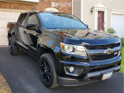 2019 Chevrolet Colorado - 20x9 19mm - Fuel Coupler - Stock Suspension - 255/55R20