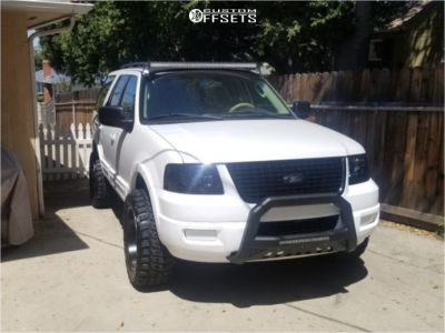 """2005 Ford Expedition - 20x10 -25mm - Toxic Widow - Leveling Kit - 33"""" x 12.5"""""""