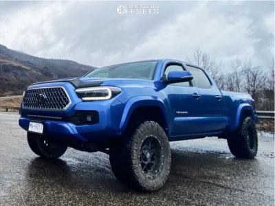 """2018 Toyota Tacoma - 18x9 -12mm - XD XD820 - Leveling Kit - 33"""" x 12.5"""""""