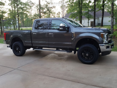 "2019 Ford F-250 Super Duty - 20x9 18mm - Anthem Off-Road Intimidator - Leveling Kit - 35"" x 12.5"""