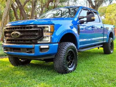 "2020 Ford F-250 Super Duty - 18x9 -12mm - Method Mr305 - Leveling Kit - 35"" x 12.5"""