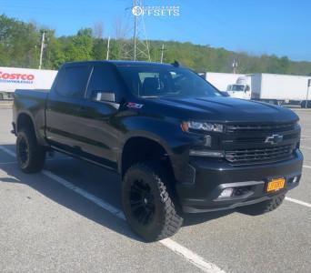 """2019 Chevrolet Silverado 1500 - 20x10 -18mm - Fuel Vapor - Suspension Lift 6"""" - 35"""" x 12.5"""""""