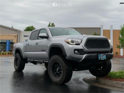 "2019 Toyota Tacoma - 16x9 -12mm - XD Xd820 - Suspension Lift 6"" - 275/65R16"