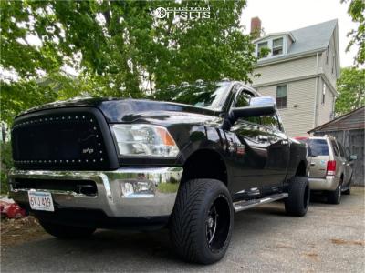 "2011 Dodge Ram 2500 - 20x12 -44mm - Anthem Off-Road Gunner - Suspension Lift 5.5"" - 305/50R20"