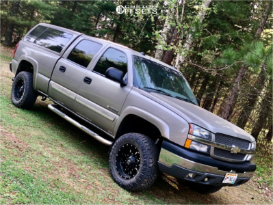 2003 Chevrolet Silverado 1500 HD - 18x9 -12mm - Fuel Krank - Leveling Kit - 285/65R18