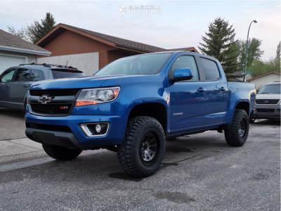 2019 Chevrolet Colorado - 17x9 -6mm - Mayhem Flat Iron - Leveling Kit - 265/70R17