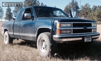"1994 Chevrolet K1500 - 16x8 0mm - Raceline Renegade - Leveling Kit - 30"" x 12.5"""