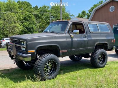 "1989 Chevrolet Blazer - 20x12 -44mm - TIS 544mb - Suspension Lift 4"" - 37"" x 13.5"""
