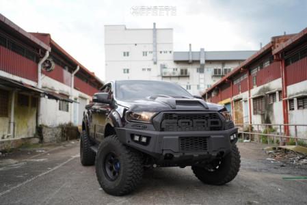 "2019 Ford Ranger - 16x9 0mm - Lenso MAX 1 - Suspension Lift 2.5"" - 315/75R16"