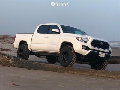 """2019 Toyota Tacoma - 17x9 -12mm - Method MR312 - Leveling Kit - 32"""" x 12.5"""""""