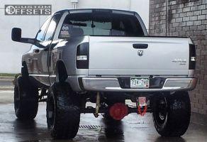 "2005 Dodge Ram 1500 - 20x14 -76mm - Fuel Maverick - Suspension Lift 6"" & Body 3"" - 38"" x 15.5"""
