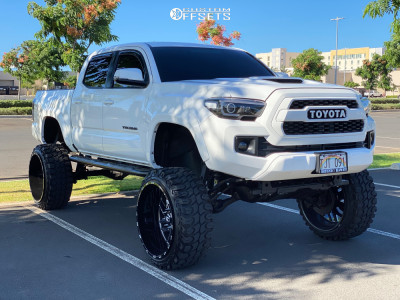 "2017 Toyota Tacoma - 24x14 -76mm - TIS 544bm - Suspension Lift 12"" - 35"" x 12.5"""