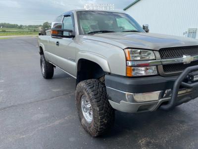 "2003 Chevrolet Silverado 2500 HD - 16x8 0mm - Pro Comp Series 69 - Suspension Lift 6"" - 315/75R16"