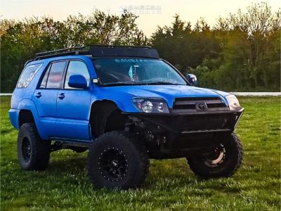 2005 Toyota 4Runner - 16x8 -12mm - VTX Offroad Rogue Sl - Stock Suspension - 305/70R16
