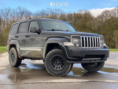 2012 Jeep Liberty - 16x8 1mm - Fuel Vector - Leveling Kit - 265/70R16
