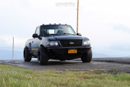 2002 Ford Ranger - 15x10 -81mm - Bart Super Trucker - Lowered Adj Coil Overs - 255/60R15
