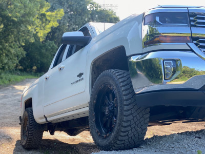 """2016 Chevrolet 1500 - 20x9 -12mm - Panther Offroad 678 - Leveling Kit - 33"""" x 12.5"""""""