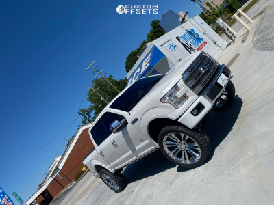"""2016 Ford F-150 - 26x10 31mm - Factory Reproductions Fr55 - Suspension Lift 6"""" - 37"""" x 12.5"""""""
