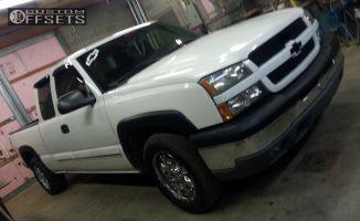 """2004 Chevrolet Silverado 1500 - 17x9 10mm - Ultra Unknown - Stock Suspension - 30"""" x 10.5"""""""