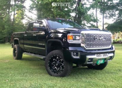 "2018 GMC Sierra 3500 HD - 20x10 -12mm - Fuel Lethal - Suspension Lift 4.5"" - 295/60R20"