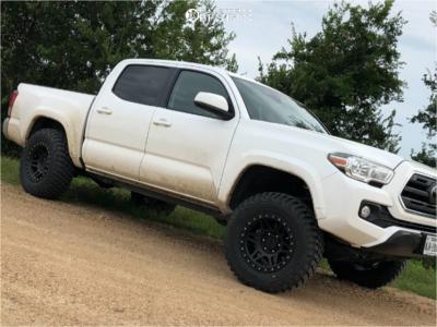2019 Toyota Tacoma - 17x9 -12mm - Method Mr312 - Leveling Kit - 265/70R17