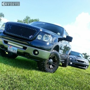 """2006 Ford F-150 - 18x9 18mm - XD Monster - Leveling Kit - 33"""" x 12.5"""""""