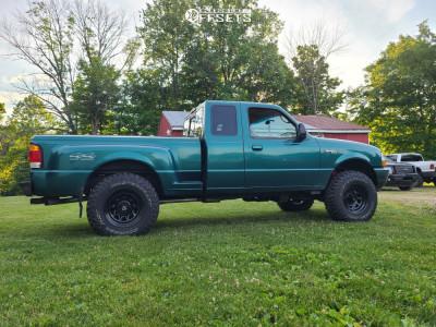 1998 Ford Ranger - 16x8 -6.35mm - Pro Comp 51 - Leveling Kit - 265/75R16