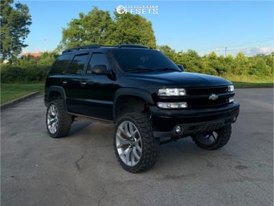 "2004 Chevrolet Tahoe - 24x9.5 0mm - Oe Performance C01 - Suspension Lift 6"" - 35"" x 12.5"""