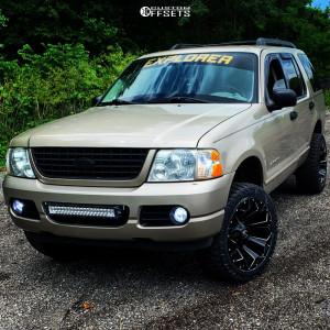 "2005 Ford Explorer - 20x10 -18mm - Fuel Assault - Suspension Lift 3"" - 32"" x 11.5"""