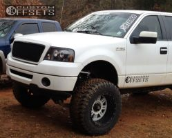 """2008 Ford F-150 - 20x12 -44mm - XD Riot - Lifted >9"""" - 37"""" x 13.5"""""""