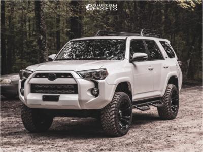 2019 Toyota 4Runner - 20x10 -19mm - Fuel Vapor - Stock Suspension - 285/50R20