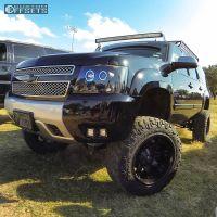 "2007 Chevrolet Suburban - 20x12 -44mm - Fuel Octane - Suspension Lift 9"" - 35"" x 12.5"""